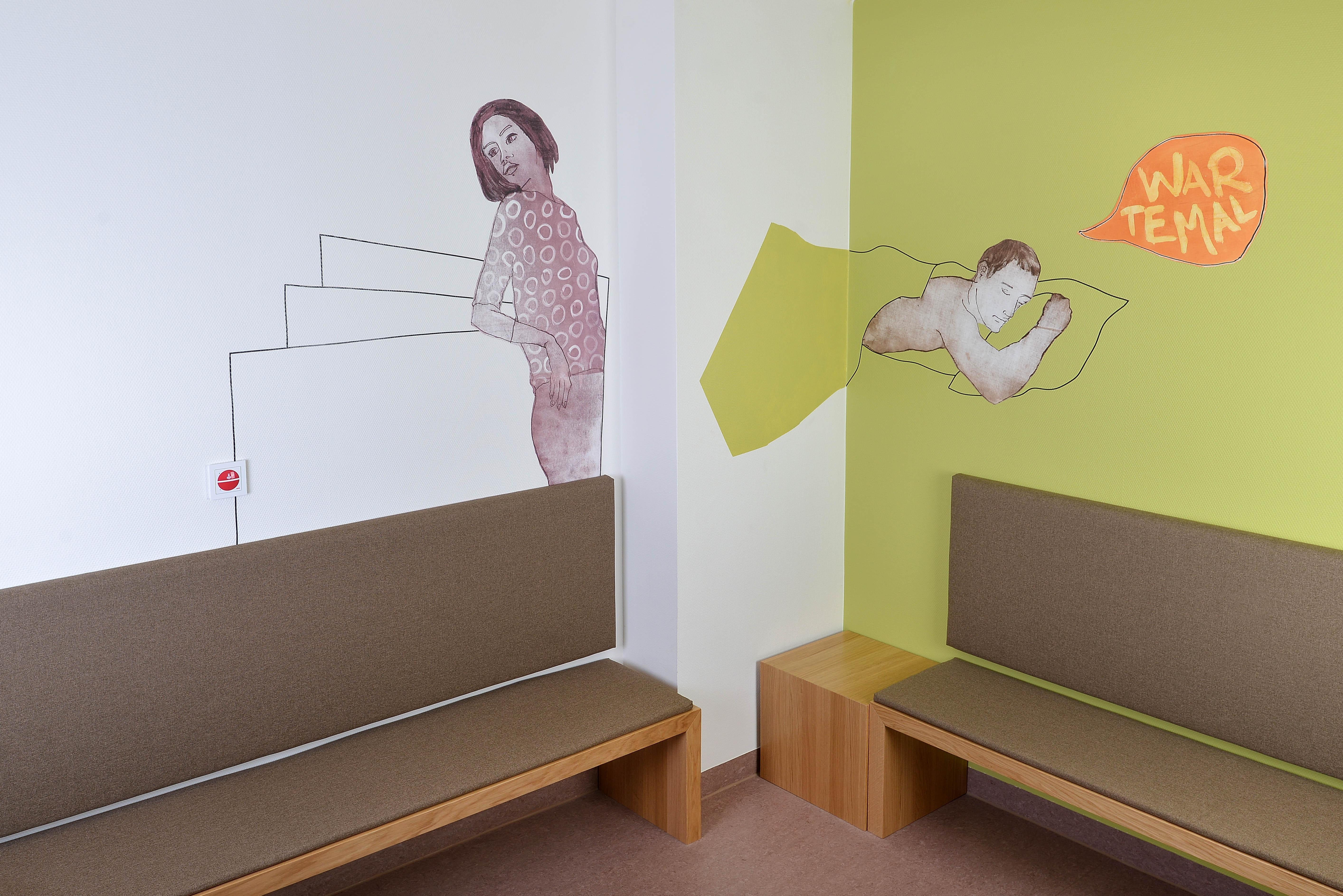 Wartebereich Euregio-Klinik (Raumfoto 1)