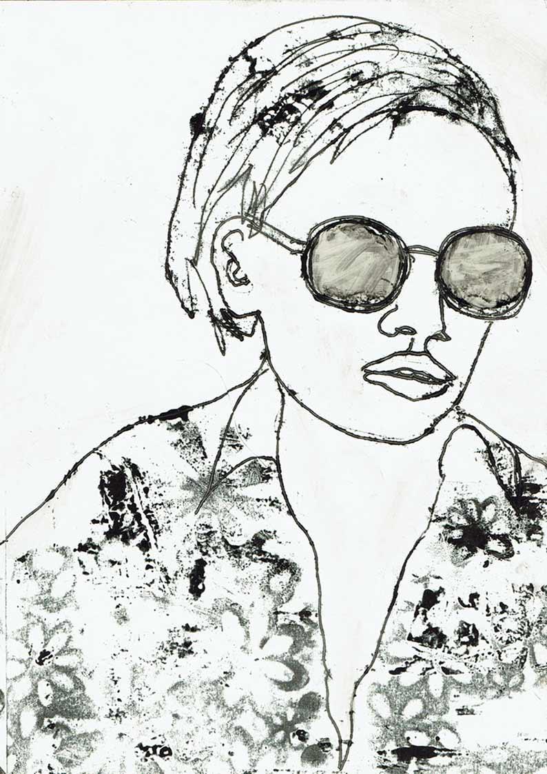 Gräben umspringen (Sonnenbrille)